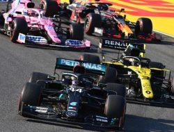 Formula 1 GP Tuscan: Lewis Hamilton Raih Terdepan, Albon Rebut Podium Pertamanya