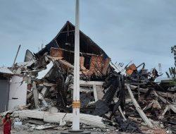 #Pray For Sulbar, Gempa di Majene Hancurkan Kantor Gubenur
