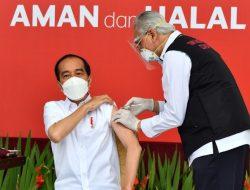 Jokowi Disuntik Vaksin Covid-19 Sinovac Hari ini