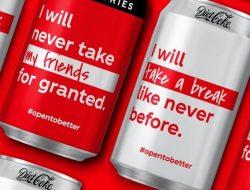 Menghilangnya Logo Coca-Cola pada Kemasan
