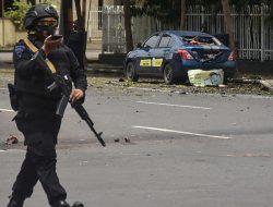 Jasad di Depan Gereja Katedral Makassar Diduga Pelaku